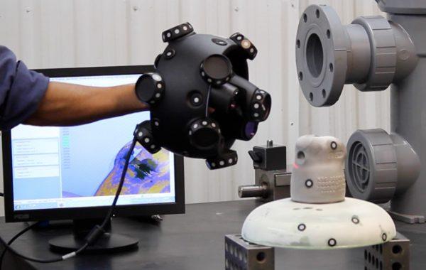 L'unité portable du scan 3D
