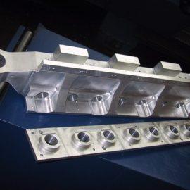 Transfert en aluminium